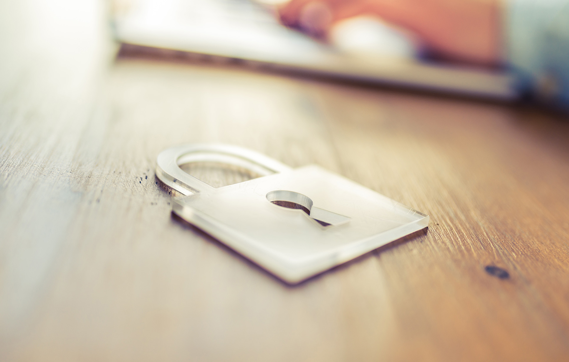 Protecting the Boardroom padlock cybersecurity blog image